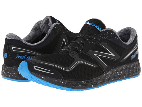 New Balance - Fresh Foam Zante (Black/Blue) Men's Running Shoes