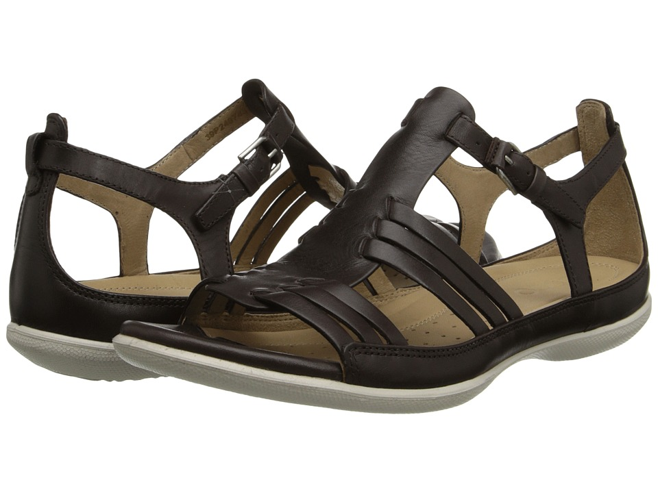 ECCO - Flash Huarache Sandal (Coffee 2) Women