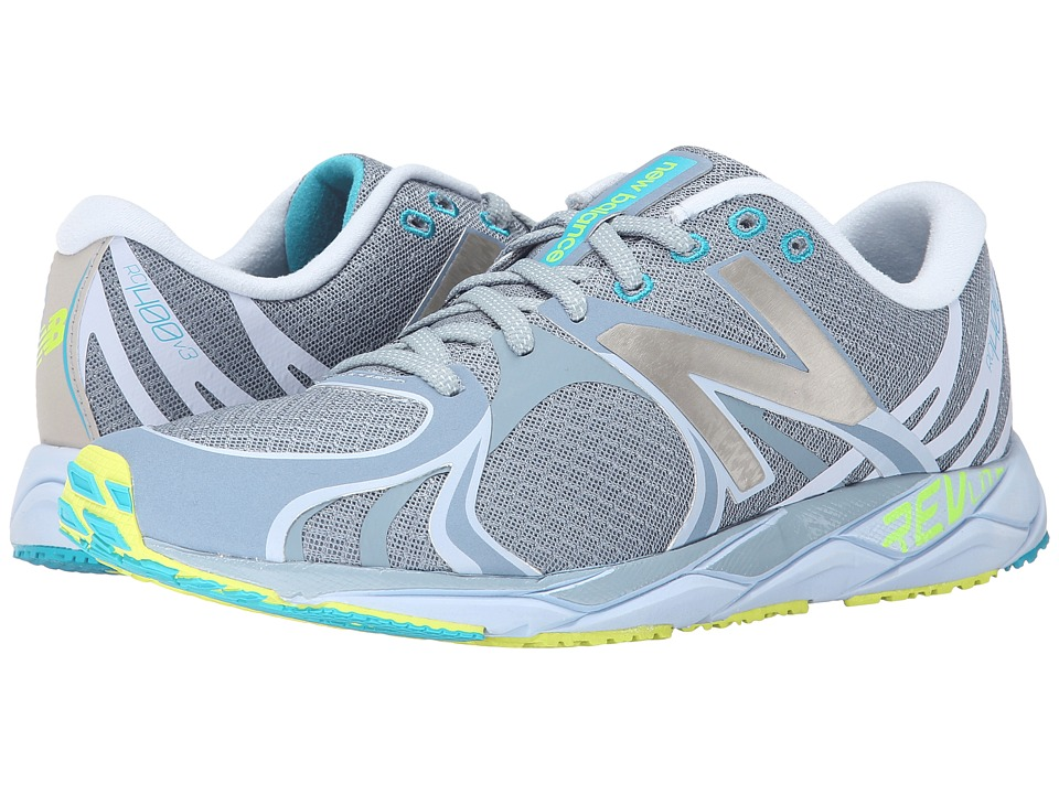 New Balance - W1400v3 (Grey/White) Women's Running Shoes