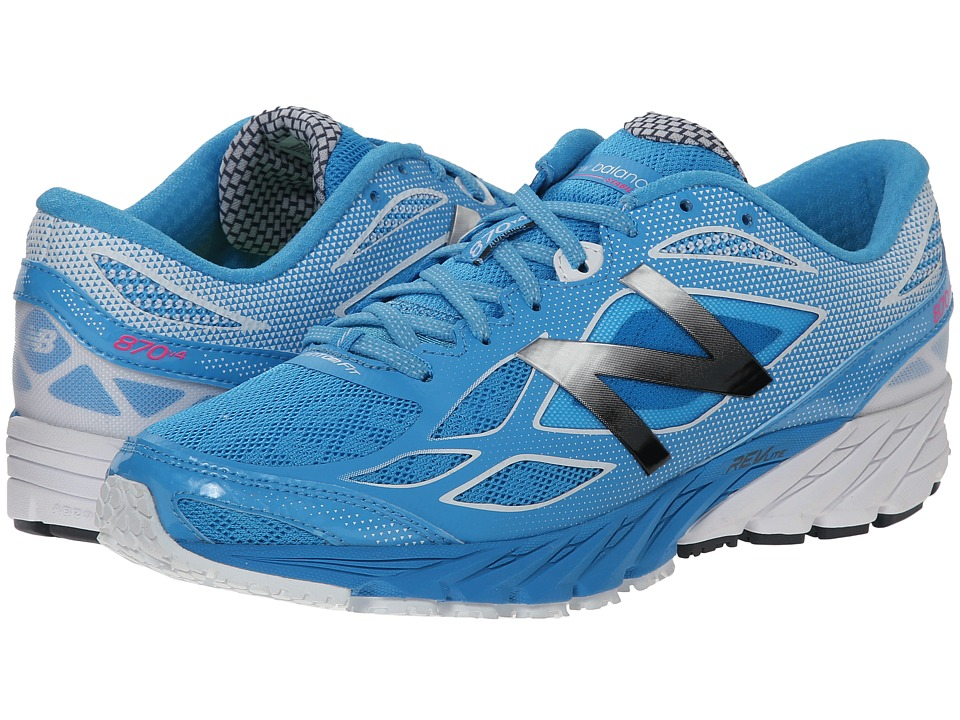 New Balance - W870v4 (Blue/White) Women's Running Shoes