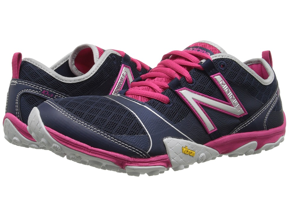 New Balance - WT10v3 (Navy/Pink Glo) Women's Running Shoes