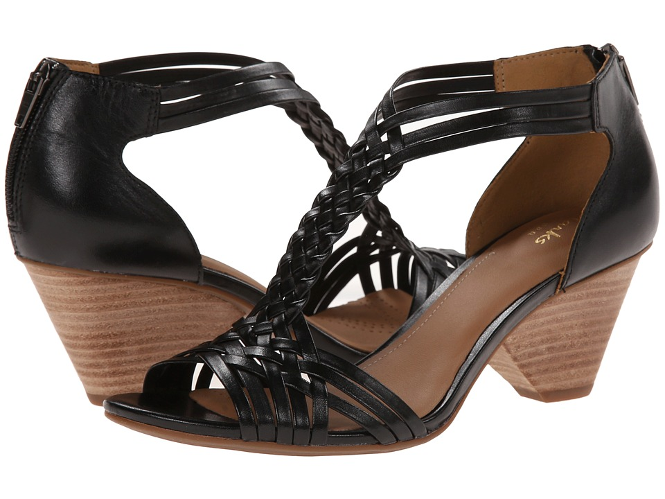 Clarks - Ranae Monique (Black Leather) Women