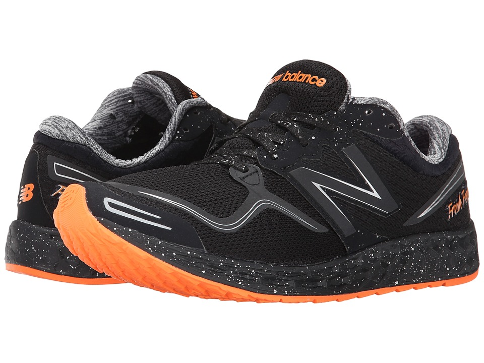 New Balance - Fresh Foam Zante (Black/Orange) Women's Running Shoes