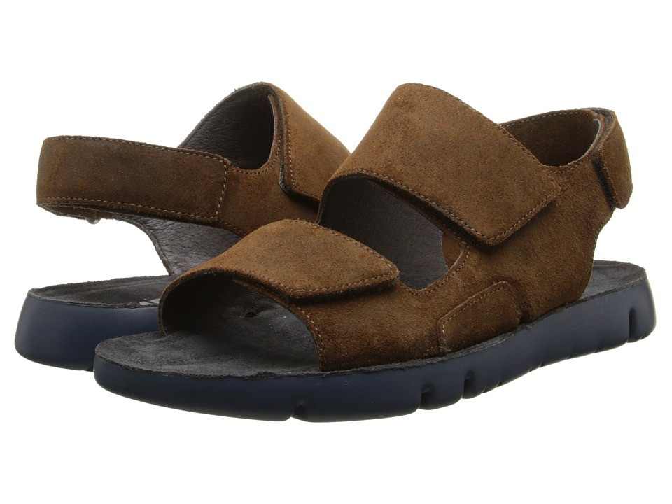 Camper - Oruga - 18943 (Dark Brown) Men's Sandals