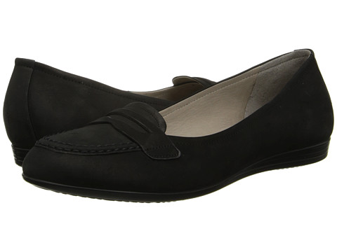 ECCO - Touch 15 Penny Loafer (Black) Women's Slip on Shoes