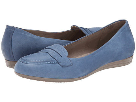 ECCO - Touch 15 Penny Loafer (Retro Blue) Women