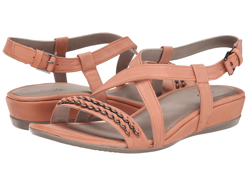 ECCO - Touch 25 Sandal (Coral) Women's Shoes