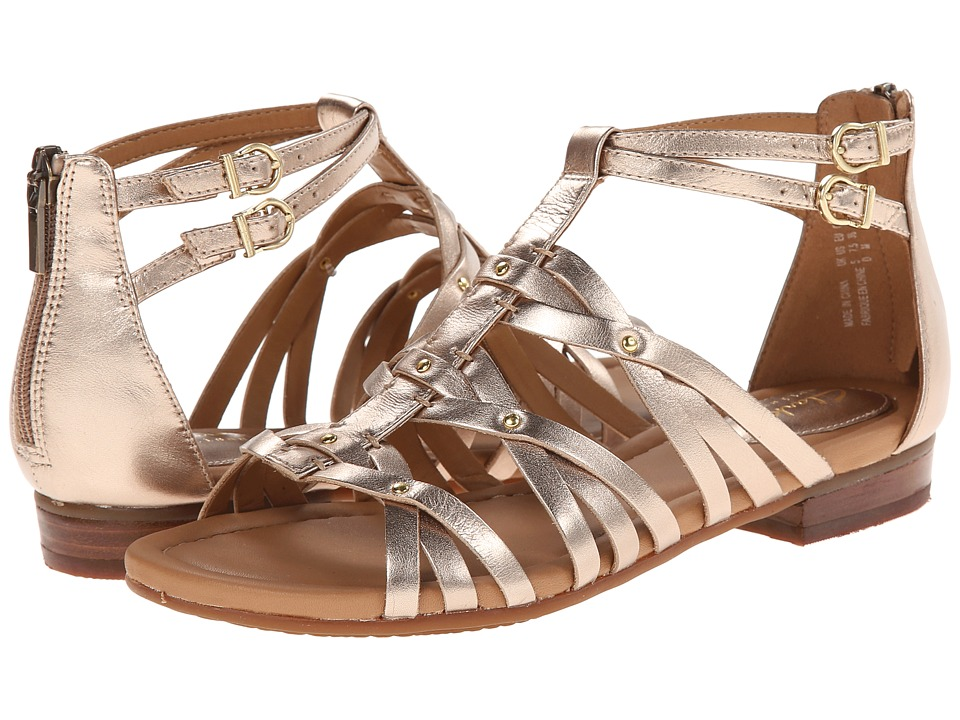 Clarks - Viveca Rome (Gold Leather) Women's Sandals