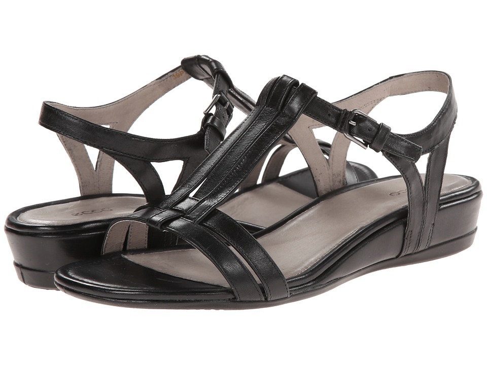 ECCO - Touch 25 T-Strap Slide (Black) Women