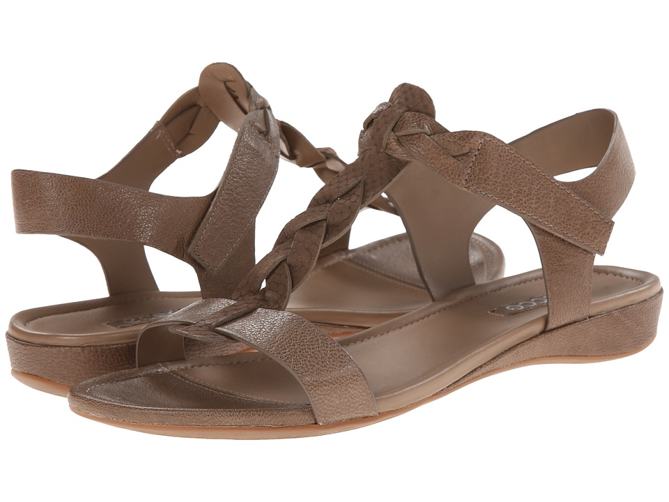 ECCO - Bouillon Knot Sandal II (Olive/Olive) Women's Sandals