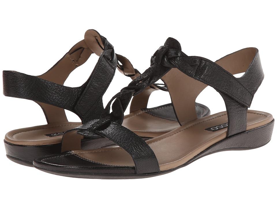 ECCO - Bouillon Knot Sandal II (Black/Black) Women
