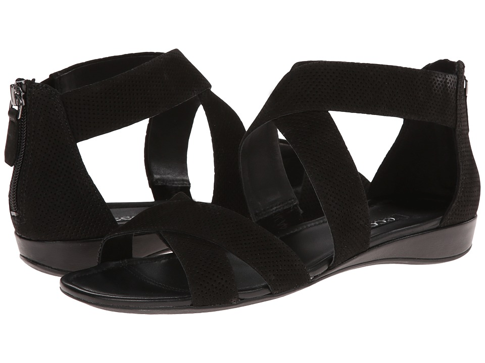 ECCO - Bouillon Band Sandal II (Black/Black) Women's Sandals