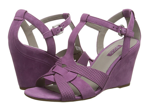 ECCO - Rivas 75 (Fuchsia/Fuchsia) Women's Wedge Shoes