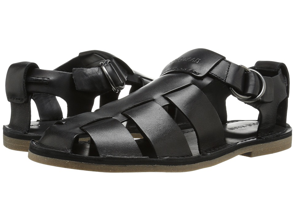 Cole Haan - Ginsberg Fisherman (Black) Men's Sandals