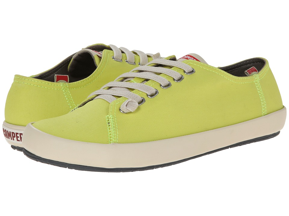 Camper - Peu Rambla Vulcanizado - 18869 (Bright Yellow) Men's Lace up casual Shoes
