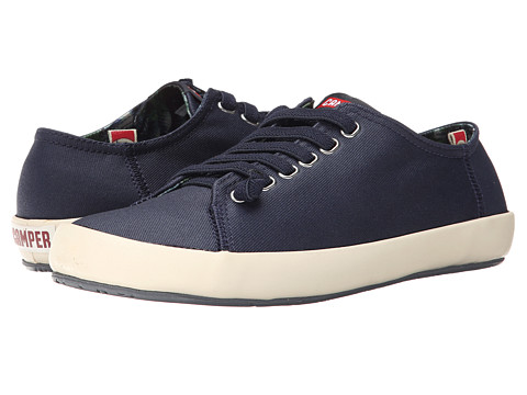 Camper - Peu Rambla Vulcanizado - 18869 (Navy) Men's Lace up casual Shoes