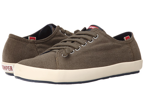 Camper - Peu Rambla Vulcanizado - 18869 (Dark Green 2) Men's Lace up casual Shoes