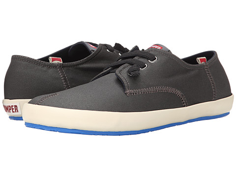 Camper - Peu Rambla Vulcanizado - 18872 (Dark Gray) Men's Lace up casual Shoes