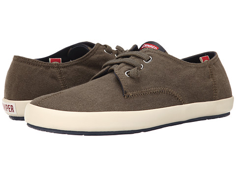Camper - Peu Rambla Vulcanizado - 18872 (Dark Green 2) Men's Lace up casual Shoes