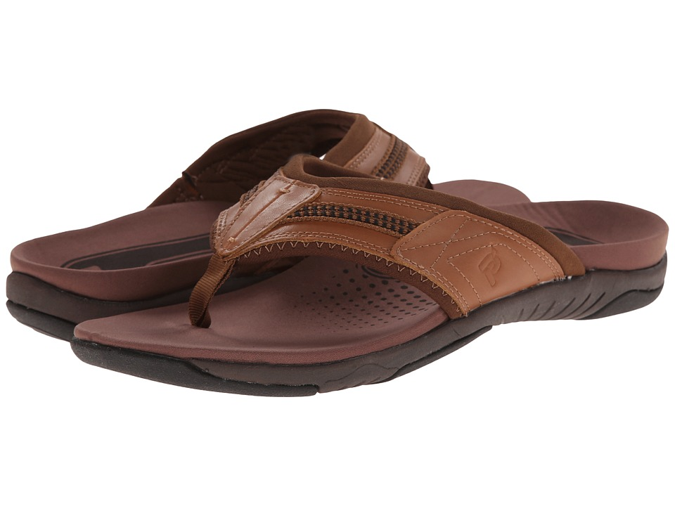 Propet - Martinez XT (Brown) Men's Flat Shoes