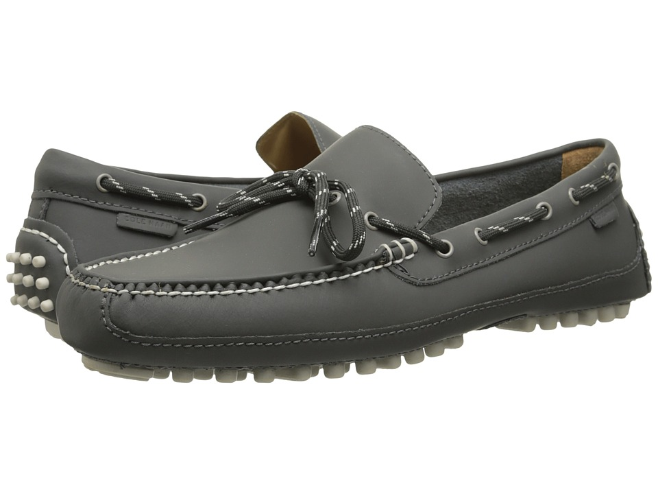 Cole Haan - Grant Canoe Camp Moc (Steel Grey Matte) Men's Slip on Shoes