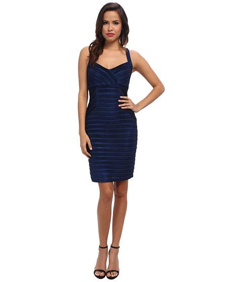 Calvin Klein - Glazed Jersey Cross Back Dress (Blueprint) Women