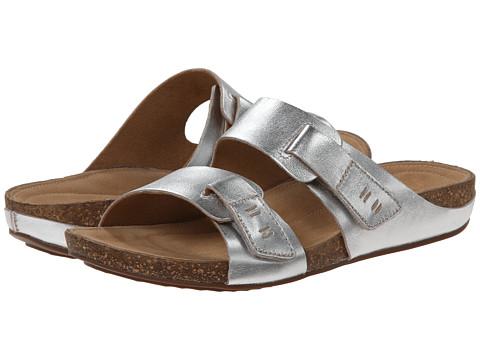 Clarks - Perri Island (Silver Leather) Women