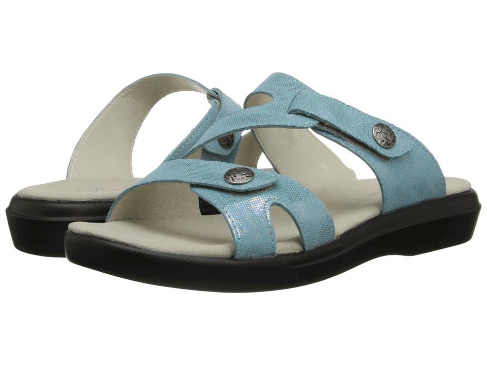 Propet - St. Lucia (Aqua Foil) Women's Sandals