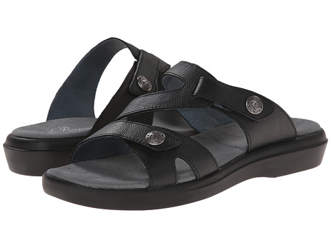 Propet - St. Lucia (Black Grain) Women