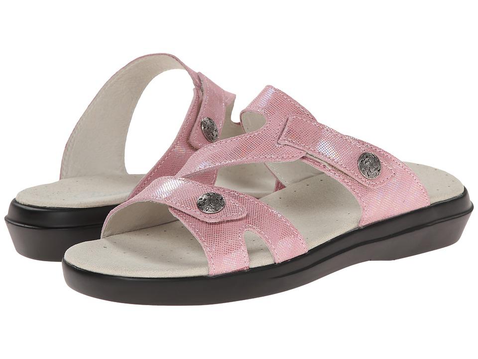 Propet - St. Lucia (Pink Foil) Women's Sandals
