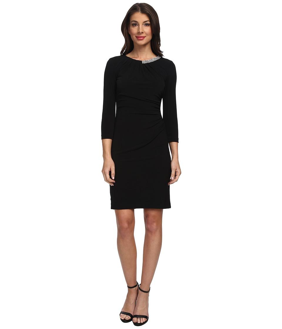 Tahari by ASL - Franco - P (Black) Women's Dress