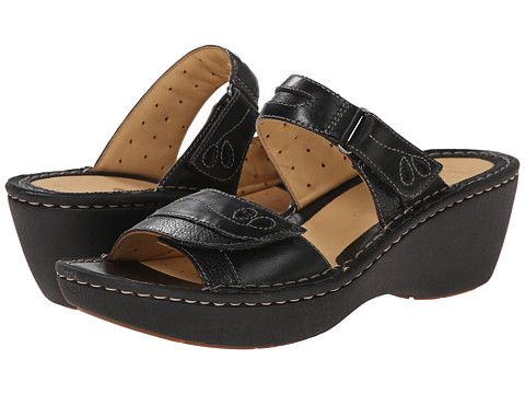 Clarks - Un Ames (Black Leather) Women's Sandals