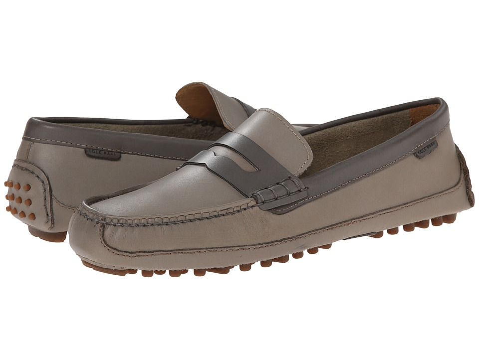 Cole Haan - Grant Canoe Penny (Mason Grey/Pewter) Men