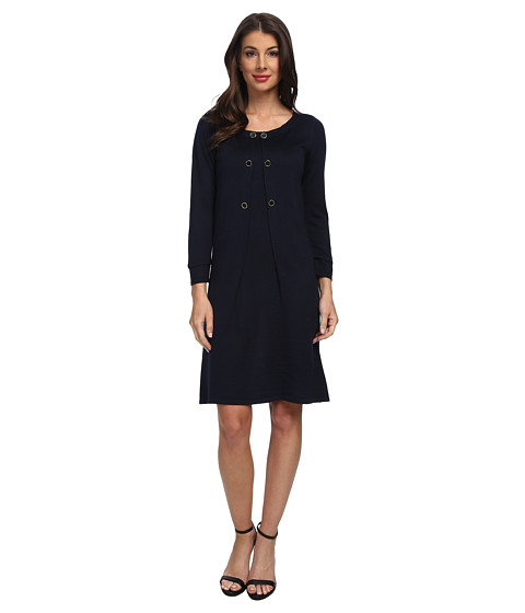 Tahari by ASL - Ray - P (Navy) Women's Dress