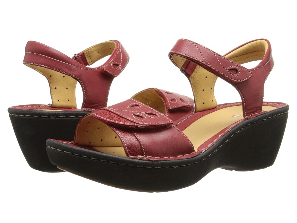 Clarks - Un Dory (Red Leather) Women's Sandals