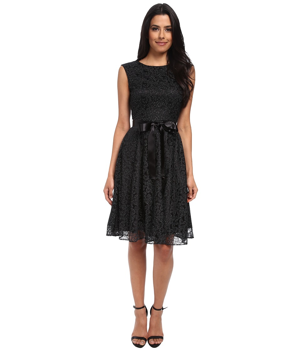 Tahari by ASL - Douglas - P (Black) Women's Dress