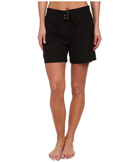 La Blanca - Boardwalk 5 Boardshort (Black) Women's Swimwear