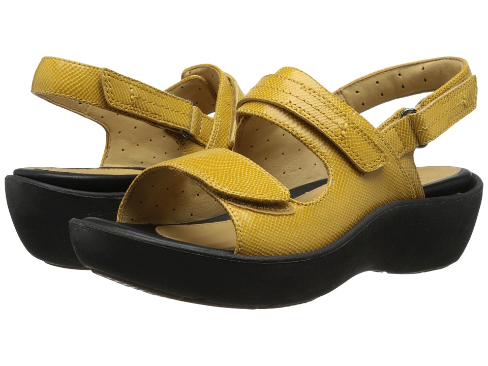 Clarks - Un Harvest (Honey Leather) Women's Sandals