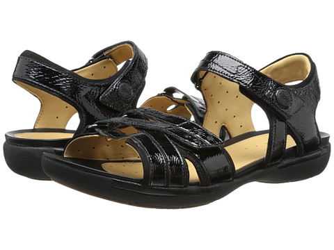Clarks - Un Vasha (Black Patent Leather) Women's Sandals