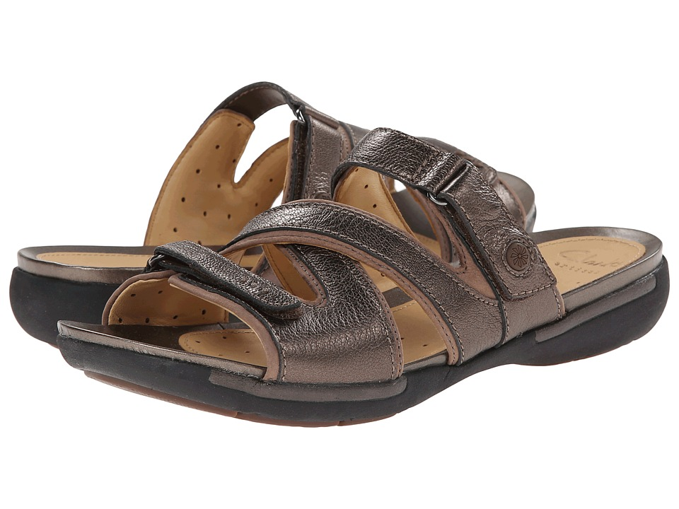 Clarks - Un Verlee (Bronze Leather) Women's Sandals