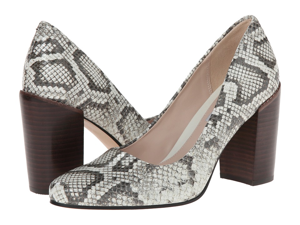 Clarks - Crumble Cream (Natural Snake) High Heels