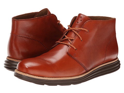 Cole Haan - Lunargrand Chukka (British Tan) Men's Lace-up Boots