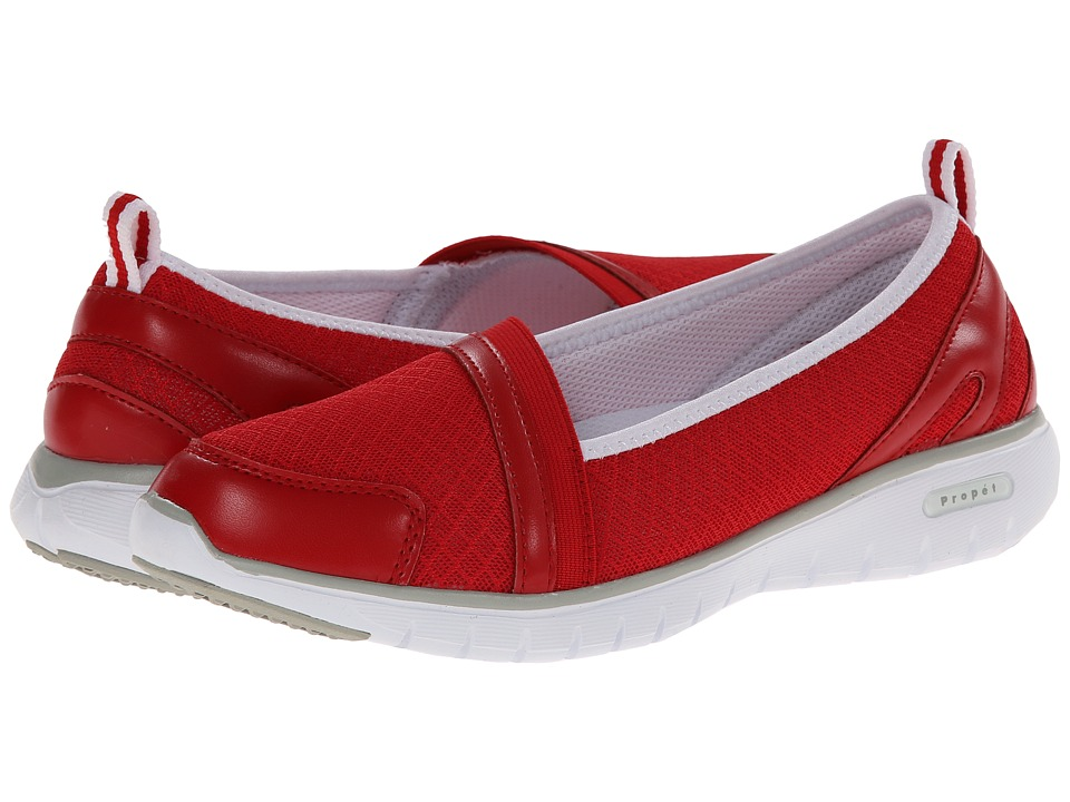 Propet TravelLite Slip-On (Red) Women