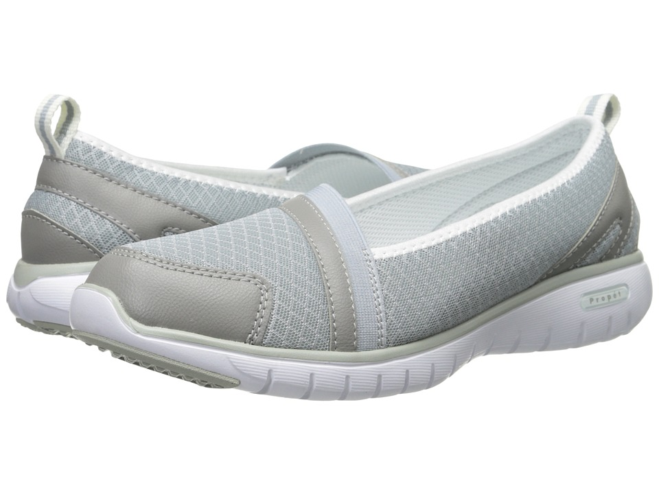 Propet - TravelLite Slip-On (Silver) Women's Slip on Shoes