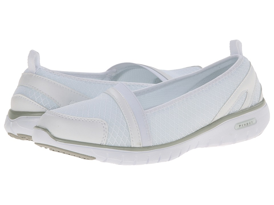 Propet TravelLite Slip-On (White) Women