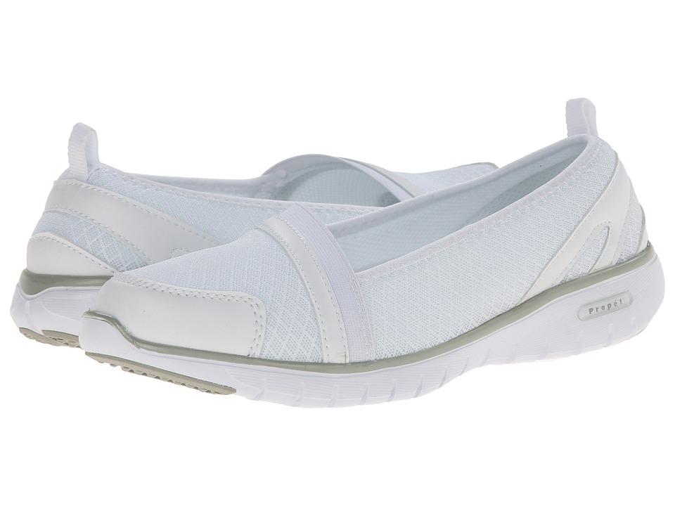 Propet - TravelLite Slip-On (White) Women's Slip on Shoes