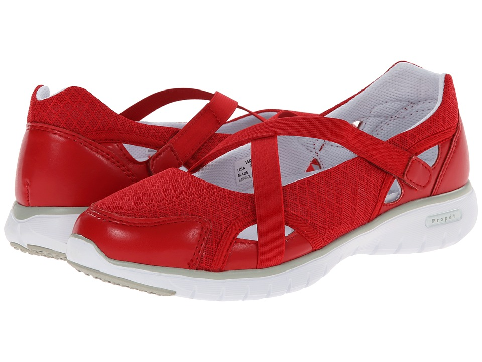 Propet TravelLite Mary Jane (Red) Women