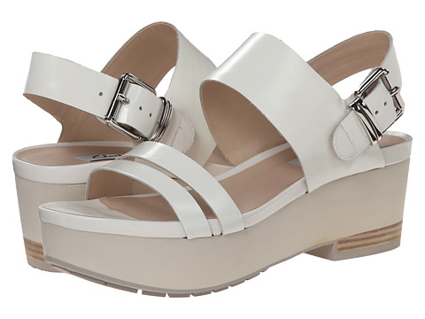 Clarks - Perez Glitter (White) Women's Sandals