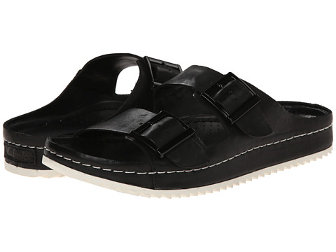 Clarks - Netrix Rose (Black Leather) Women's Sandals