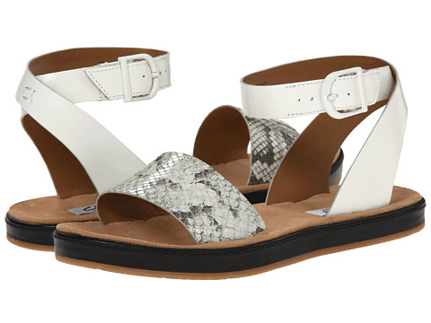 Clarks - Romantic Moon (Natural Snake) Women's Sandals